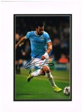 Alvaro Negredo Autograph Signed Photo - Manchester City